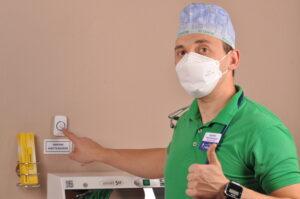 dsc 3423 300x199 - Кнопка вызова анестезиолога - в каждом кабинете, в комнатах отдыха, на детском и взрослом ресепшене!