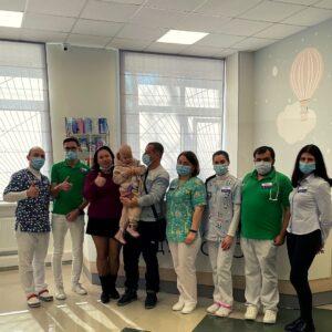 1jpeg 300x300 - Мы провели лечение онкобольного ребенка в рамках нашей благотворительной программы
