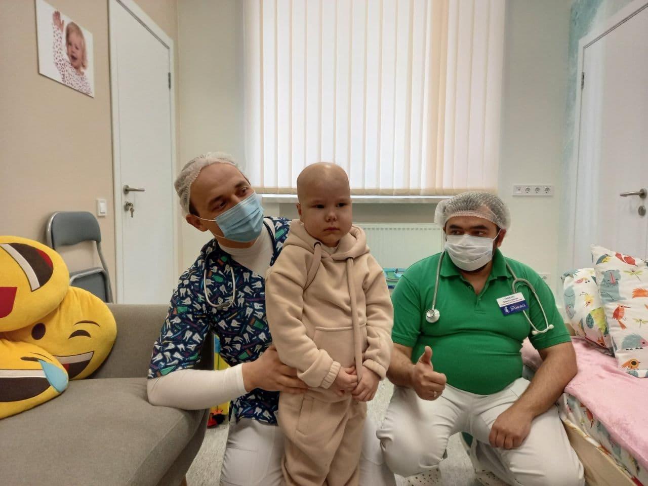 photo 2021 02 23 12 28 57 - Ми провели лікування онкохворої дитини у рамках нашої благодійної програми