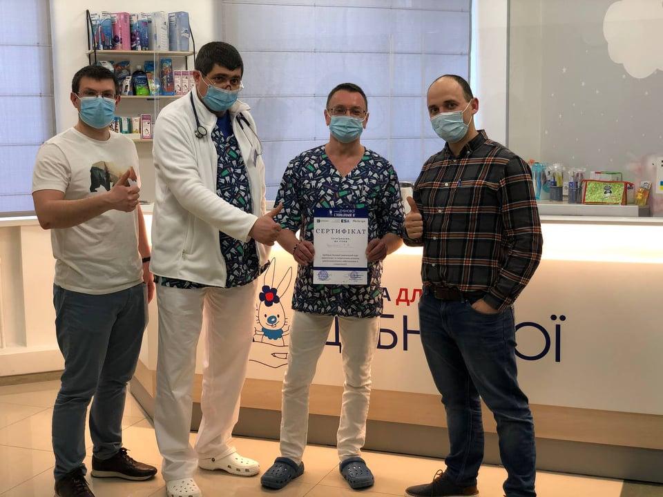 162670900 830571524211723 7462307301952526058 n - Наши анестезиологи делятся опытом с коллегами из Одессы